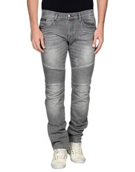 Philipp Plein Denim Denim Trousers Men Grey