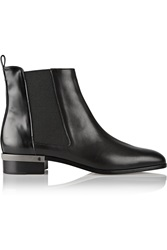 Reed Krakoff Polished Leather Chelsea Boots Black