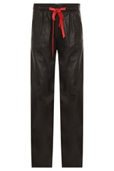 Alexander Wang Leather Drawstring Trouser