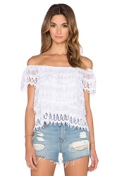 Miguelina Angie Top White