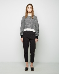 Sayaka Davis Tapered Pants Nero
