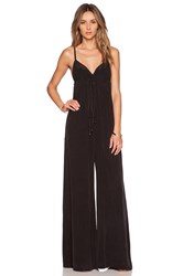 Gypsy 05 Wrap Jumpsuit Black