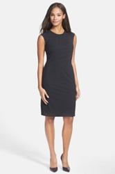 Hugo Boss Boss 'Dicaila' Stretch Wool Sheath Dress Black