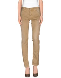 Cycle Trousers Casual Trousers Women Khaki