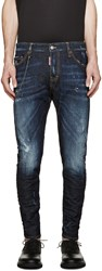 Dsquared Blue Easy Every Day Sexy Twist Jeans