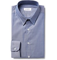 Saturdays Surf Nyc Reed Cotton Pinpoint Oxford Shirt Blue