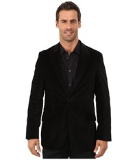 Robert Graham Kirkcaldy Woven Sportcoat Black Men's Coat