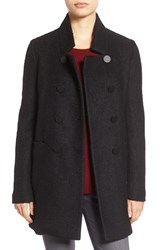 Tahari Women's 'Harper' Double Breasted Boucle Coat