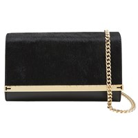 Ted Baker Liliana Across Body Chain Strap Clutch Bag Black