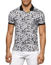 Calvin Klein Patterned Polo Black Combo