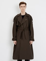 E.Tautz Db Trench Coat Brown