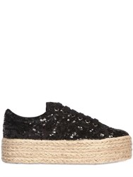 Jc Play 50Mm Sequined Rope Platform Sneakers