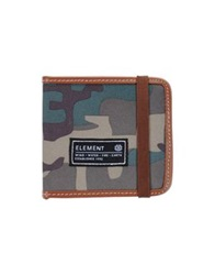 Element Wallets Military Green