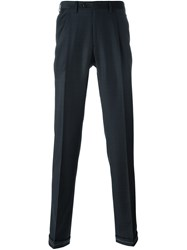 Brioni Tailored Trousers Blue