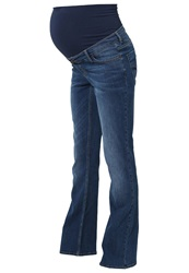 Esprit Maternity Bootcut Jeans Stone Washed Stone Blue