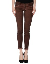 Htc Trousers Casual Trousers Women Cocoa