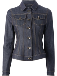 Burberry Prorsum Fitted Denim Jacket