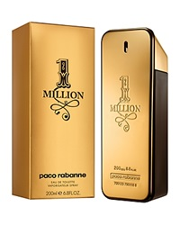 Paco Rabanne 1 Million Eau De Toilette Spray 6.8 Oz. No Color