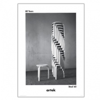 80 Years Stool 60 Poster Posters Decoration Finnish Design Shop
