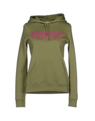 Wesc Sweatshirts Green