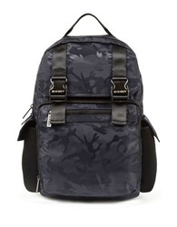 2Xist Patterned Backpack Midnight