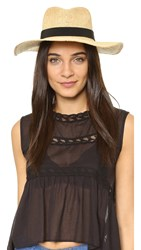 Madewell Packable Straw Hat Dark Natural Mix