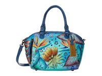 Anuschka 561 Tropical Dream Tote Handbags Blue