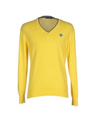 North Sails Knitwear Jumpers Men Yellow