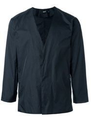 Blood Brother Buttoned Rain Jacket Black