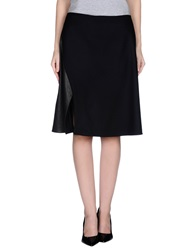 Mauro Gasperi Knee Length Skirts Black