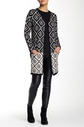 Romeo And Juliet Couture Midi Open Cardigan Multi