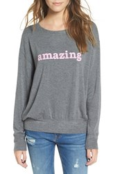 Daydreamer Women's 'Amazing' Graphic Sweatshirt