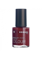 Korres Nail Lacquer Deep Red