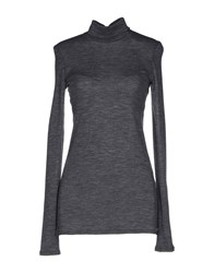 Suoli Knitwear Turtlenecks Women Grey