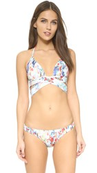 Ondademar Waterfall Wrap Bikini Top