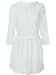 Zadig And Voltaire Rex Deluxe Dress White