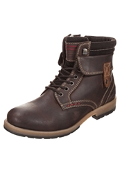 S.Oliver Laceup Boots Mocca Brown