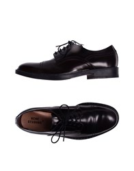 Acne Studios Lace Up Shoes Maroon