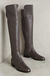 Anthropologie Miss Albright Over The Knee Riding Boots Grey