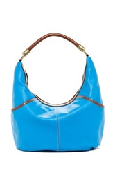 Tignanello Everyday Casual Leather Hobo Blue