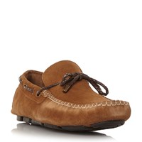 Linea Bicester Woven Driver Shoes Tan