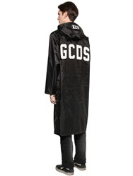 Gcds Logo Printed Nylon Raincoat
