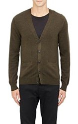 Ralph Lauren Black Label Cashmere Cardigan Green