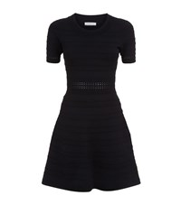 Sandro Dean Textured Knit Dress Female Black