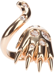 Paolo Piovan Tiger Claw Ring Metallic