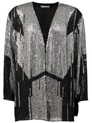 Faith Connexion Sequined Jacket Black