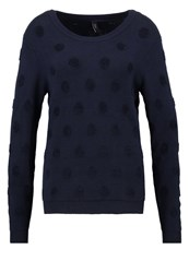 Y.A.S Yas Yasdotty Jumper Navy Blazer Dark Blue