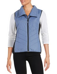 New Balance Zip Front Quilted Vest