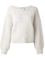 Forte Forte Loose Style Jumper White
