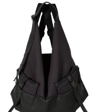 Cote And Ciel Cote And Ciel Ganges M Leather Backpack Black